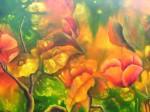 Obras de arte: America : Estados_Unidos : Florida : miami : FLORES DEL CAMPO