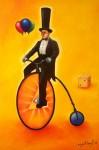 Obras de arte: America : México : Michoacan_de_Ocampo : La_Piedad : God's Bycicle