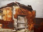 Obras de arte: America : Cuba : La_Habana : Vedado : reverso, de la serie erosion del limite