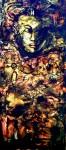 Obras de arte: America : Cuba : Ciudad_de_La_Habana : Centro_Habana : Paisaje de una mujer vestida