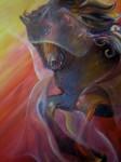 Obras de arte: America : Chile : Region_Metropolitana-Santiago : pirque : La yegua