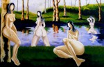 Obras de arte: America : Colombia : Antioquia : Medellin : NINFAS