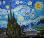 Obras de arte: Europa : España : Andalucía_Cádiz : Algeciras : Starry Night