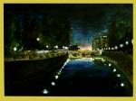 Obras de arte: Europa : España : Andalucía_Granada : Granada_ciudad : CUANDO ANOCHECE