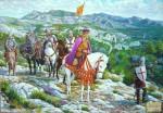 Obras de arte: Europa : España : Comunidad_Valenciana_Castellón : castellon_ciudad : Jaime I en los montes de Castellón
