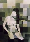 Obras de arte: Europa : Espa�a : Andaluc�a_Sevilla : paso_2 : Desnudo en verde