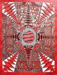 Obras de arte: America : Uruguay : Montevideo : Montevideo_ciudad : Encastres Rojo