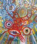 Obras de arte: America : Perú : Lima : chosica : saqra