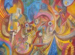 Obras de arte: America : Perú : Lima : chosica : visiones de don pedro