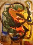 Obras de arte: America : Colombia : Risaralda : Pereira_ciudad : Abstraccion poetica las montañas tambien existen en el tropico latino