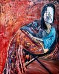 Obras de arte: America : Argentina : Neuquen : neuquen- : Mujer y Malbec