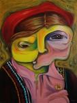 Obras de arte: Europa : España : Madrid : Madrid_ciudad : Niña de la Puna