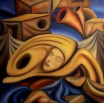 Obras de arte: America : Costa_Rica : San_Jose : SanPedro : Presagio Inconciente