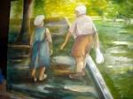 Obras de arte: America : Argentina : Buenos_Aires : BELGRANO : Pareja de ancianos