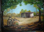 Obras de arte: America : Argentina : Buenos_Aires : BELGRANO : rancho