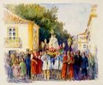 Obras de arte: Europa : España : Andalucía_Huelva : ARACENA : FESTA DE NOSSA SENHORA DA SALVAçAO
