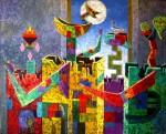 Obras de arte: America : Bolivia : Cochabamba : Cochabamba_ciudad : Iniciación del fuego