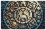 Obras de arte: America : México : Mexico_Distrito-Federal : Benito_Juarez : Máquina del tiempo