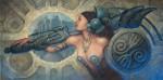 Obras de arte: America : México : Mexico_Distrito-Federal : Benito_Juarez : Rumbo a la batalla
