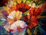 Obras de arte: Europa : España : Catalunya_Barcelona : Malgrat_de_mar : composicion de flores