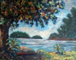 Obras de arte: America : Panam� : Panama-region : BellaVista : ALMENDRO 2