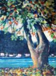 Obras de arte: America : Panam� : Panama-region : BellaVista : ALMENDRO