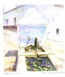 Obras de arte: Europa : España : Andalucía_Huelva : ARACENA : EL CHORRO (CASTAÑO ROBLEDO)