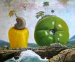 Obras de arte: America : Estados_Unidos : Florida : miami : subida a toda costa