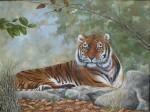 Obras de arte: America : Argentina : Buenos_Aires : ituzaingo : tigre de bengala