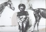 Obras de arte: Europa : España : Madrid : Madrid_ciudad : La mujer que habla hasta con los caballos