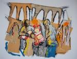 Obras de arte: America : Perú : Lima : Surco : El pan nuestro