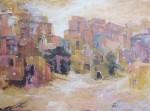 Obras de arte: Europa : España : Melilla : Melilla_ciudad : Paisaje en ocres