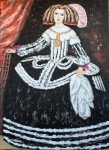 Obras de arte: Europa : España : Extrmadura_Cáceres : Logrosan : Reina Mariana de Austria Menina