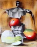 Obras de arte: America : Cuba : La_Habana : Vedado : Bodegón con mangos