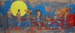 Obras de arte: America : Cuba : Camaguey : Camaguey_ciudad : Navegando por Dentro XVI (autorretratos)