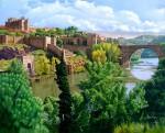 Obras de arte: Europa : España : Madrid : Madrid_ciudad : Puente San Martin - Toledo