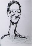 Obras de arte: America : Argentina : Mendoza : godoy_cruz : El hombre del peinado engominado