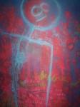Obras de arte: America : Argentina : Mendoza : godoy_cruz : El hombre azul