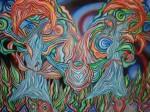 Obras de arte: America : Honduras : Francisco Morazan : Tegucigalpa : hermanas en corazon