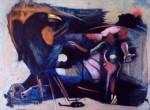 Obras de arte: America : Honduras : Francisco Morazan : Tegucigalpa : los cuervos atacan