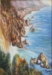 Obras de arte: Europa : España : Galicia_Pontevedra : vigo : paisaje de costa