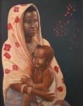 Obras de arte: America : Chile : Region_Metropolitana-Santiago : providencia : Marsabit y su hijo