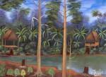 Obras de arte: America : Perú : Amazonas-Peru : Comunidad_de_Puerto_Miguel-_Yarapa : El platonal- Merlin Canaquiri