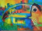 Obras de arte: America : Costa_Rica : San_Jose : Desamparados : tucan
