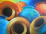 Obras de arte: America : Costa_Rica : San_Jose : Desamparados : tinajas