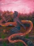 Obras de arte: America : Perú : Amazonas-Peru : Comunidad_de_Puerto_Miguel-_Yarapa : Experiencia de Ayahuasca- Steve Ruiz