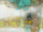 Obras de arte: America : Perú : Lima : Surco : Composicion en turqueza y amarillo