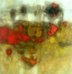 Obras de arte: America : Perú : Lima : Surco : Abstracto en ocres