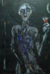 Obras de arte: Europa : España : Catalunya_Barcelona : Premia_de_mar : Brindis a la luna