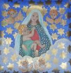 Obras de arte: America : Brasil : Sao_Paulo : Sao_Paulo_ciudad : Nossa Senhora e 4 querubins